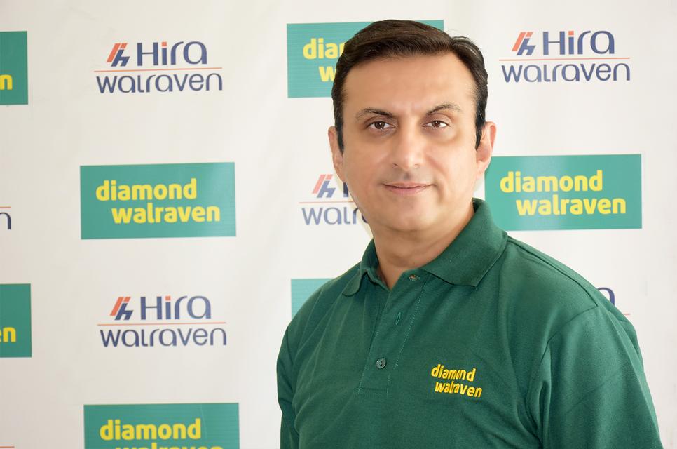 Ravi Wadhwani, general manager of Hira Walraven.