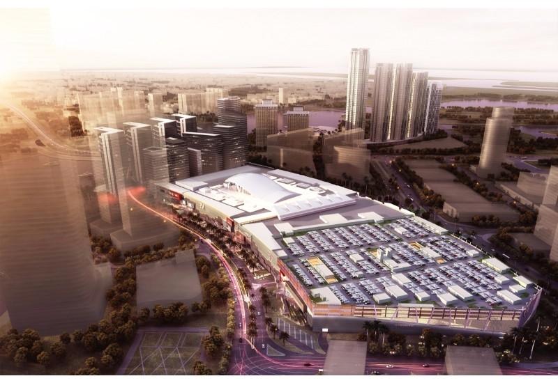 Reem Mall bird's eye view.