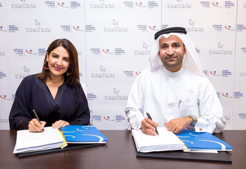 Saudi German Hospital has signed an agreement to build a hospital on Al Marjan Island.