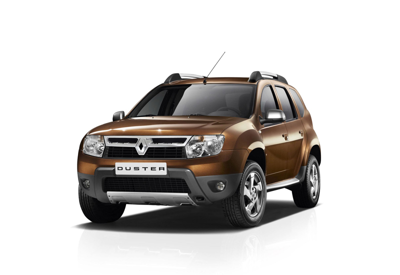 The Renault Symbol and Duster (above) models will be the first to be produced at the new plant.