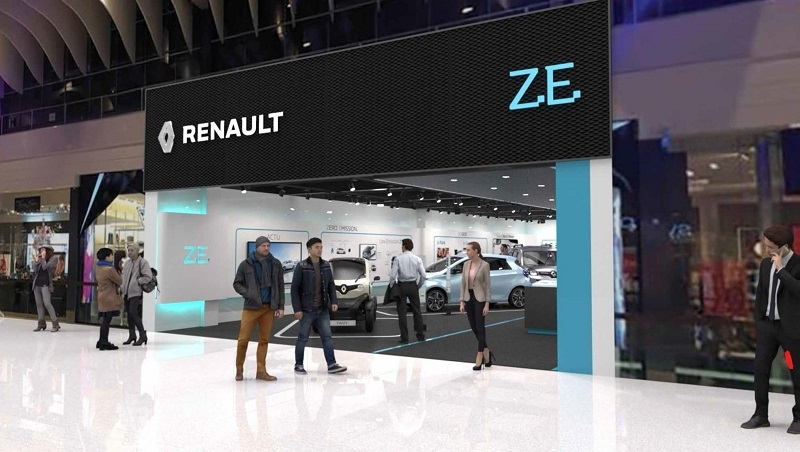 Renault will open the electric vehicle experience centre in Stockholm, Sweden.