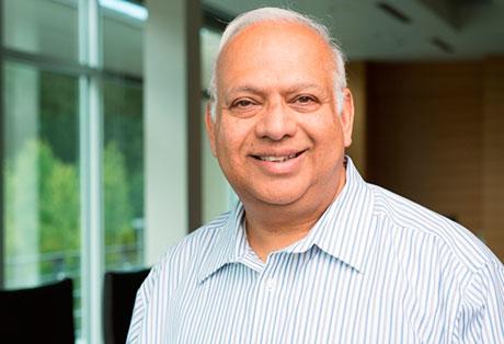 Ravi Saligram, CEO of Ritchie Bros.