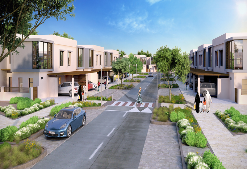 Phase 1 of the Saadiyat Lagoons District includes 820 townhouses set in a gated community.