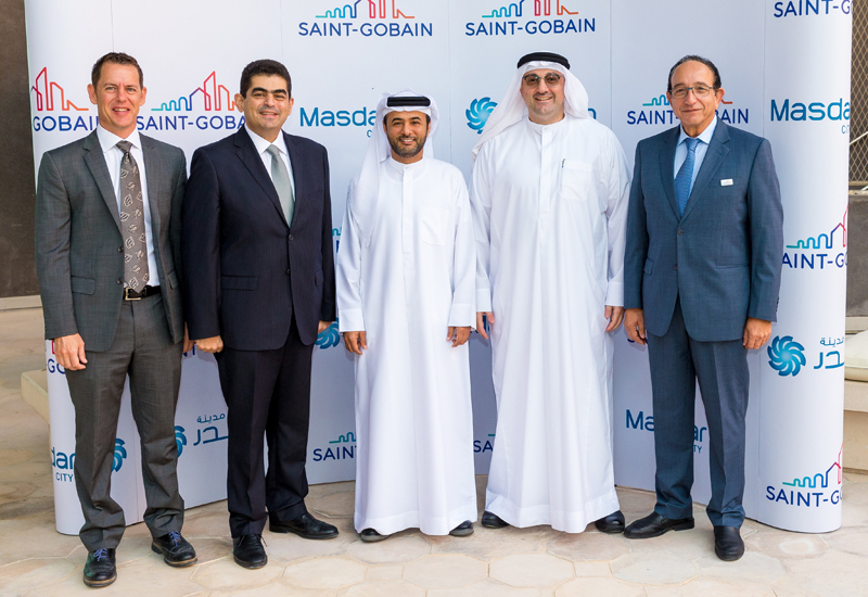 Saint-Gobain aims to develop its positive-energy Multi-Comfort House in Abu Dhabi's Masdar City by 2019.