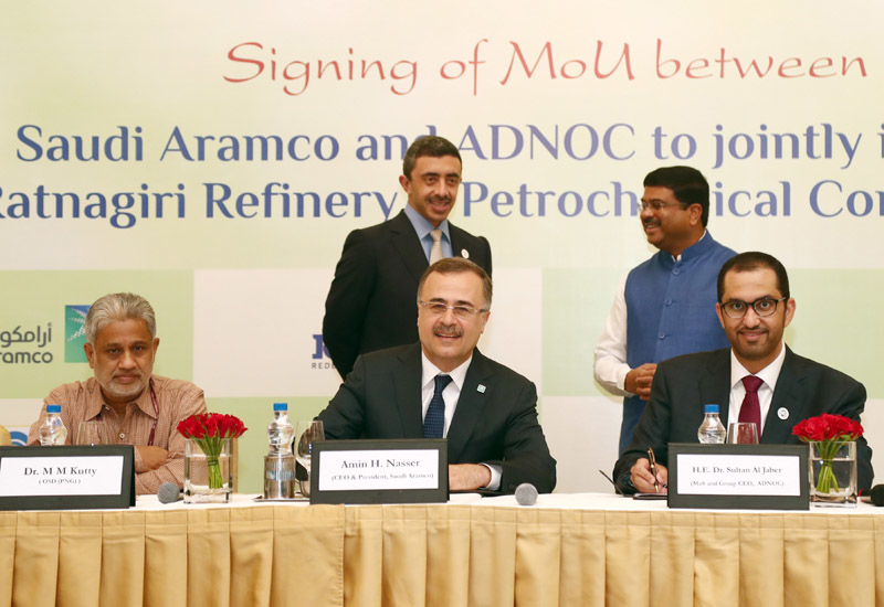 Tri-partite deal paves the way for $44bn mega refinery in India.