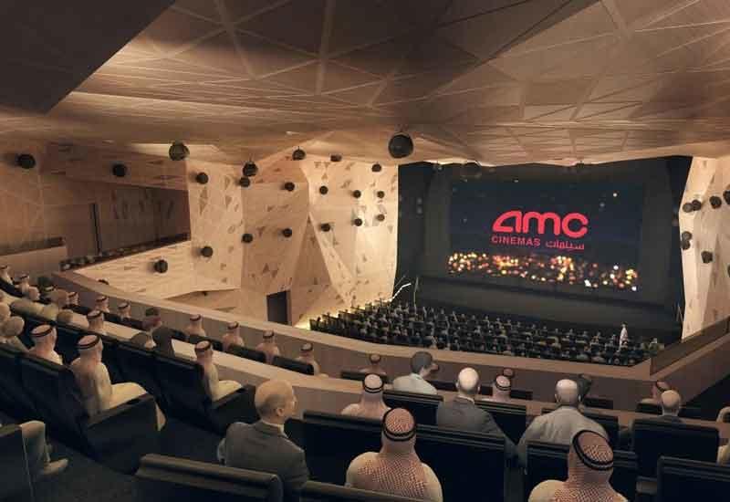 Saudi Arabia's first cinema will open in Riyadh on 18 April [image: Arabian Business].