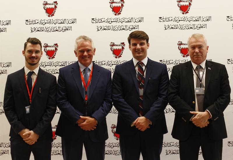 The team from Savills Bahrain.