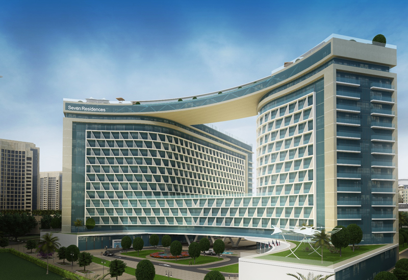 Seven Residences will be located on Dubai's Palm Jumeirah in Dubai.