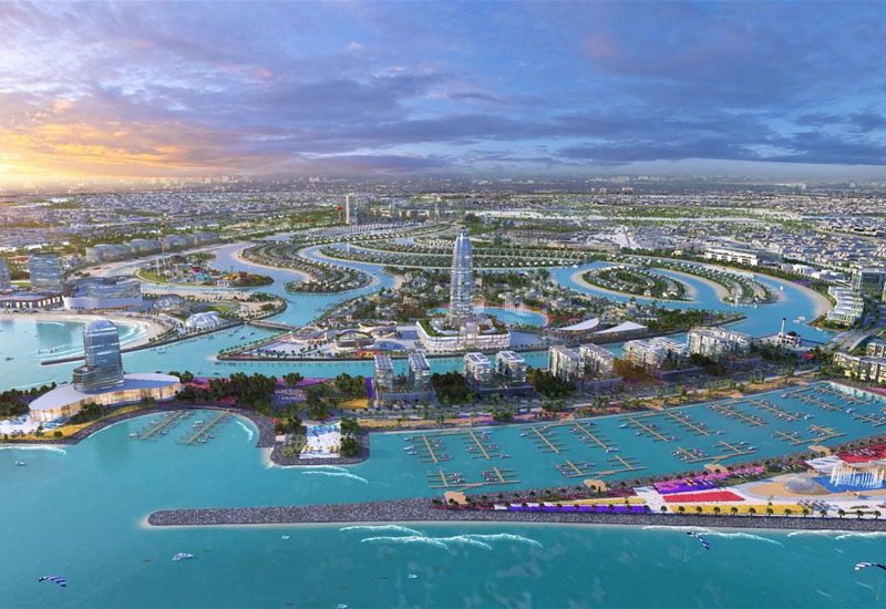 Construction works have begun for Phase 1 of Sharjah Waterfront City.
