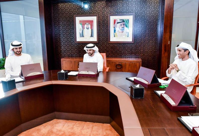 HH Sheikh Hamdan chaired the Dubai Executive Council.