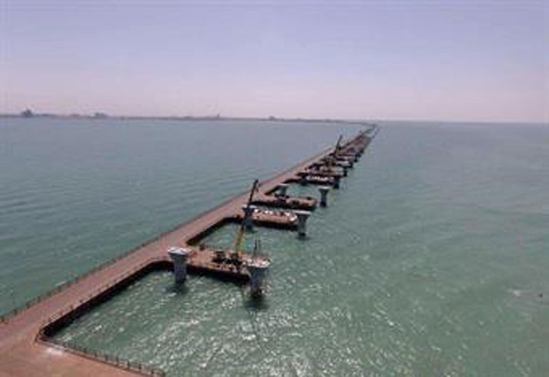 Sheikh Jaber Causeway is one of the megaprojects under way in Kuwait.