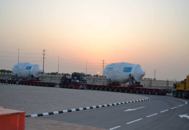 The shipment of the first locally produced gas turbine falls in line with the event held by Aramco with its partners for the Fadhili project.