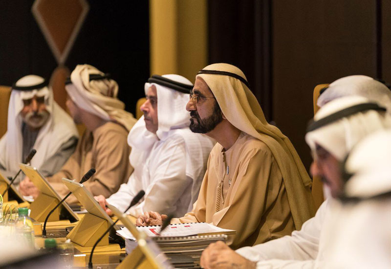 HH Sheikh Mohammed bin Rashid Al Maktoum, Vice President and Prime Minister of the UAE, and Ruler of Dubai, announced the decision during a cabinet meeting [image: Twitter/HHShkMohd].