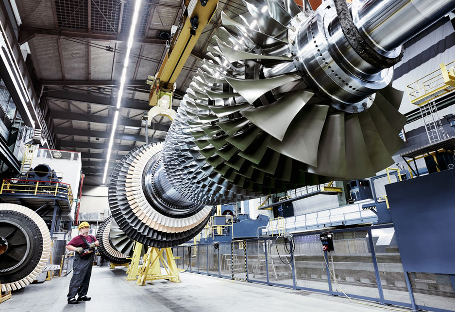 Siemens' SGT-8000H LNG turbines rank among the most efficient and powerful gas turbines in commercial operation.