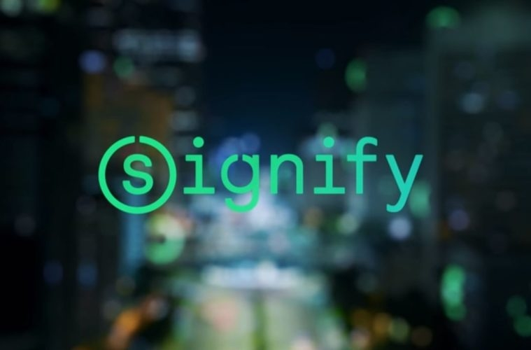 Philips Lighting changes name to Signify.
