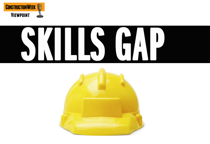 Is the skills gap widening in the Middle East's construction market?