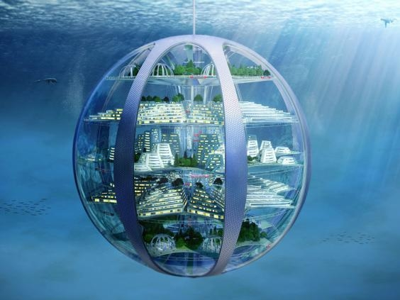 Underground 'earthscrapers', underwater cities and 3D-printed homes look set to be the future.