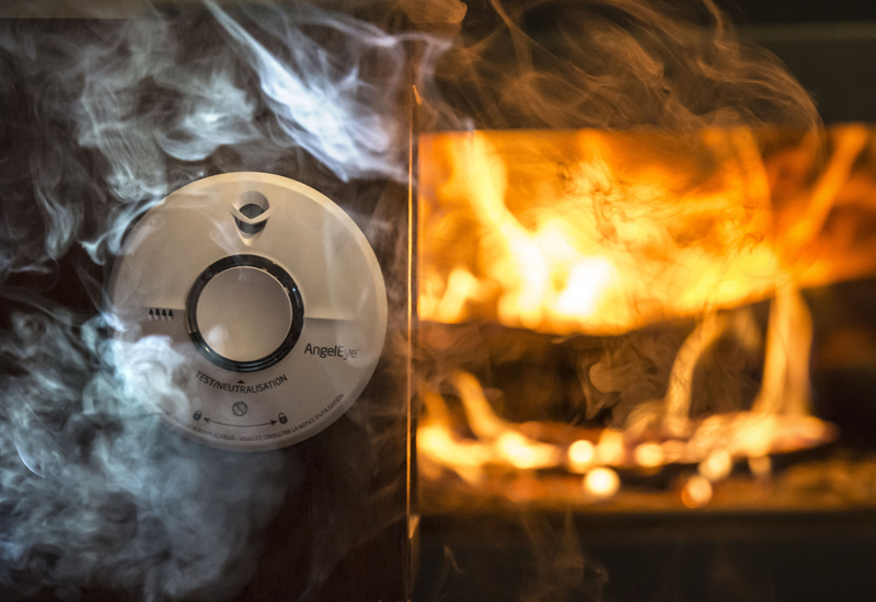 Smoke detectors will be installed in up to 1,000 homes in Sharjah this year. [Representational image / Getty]