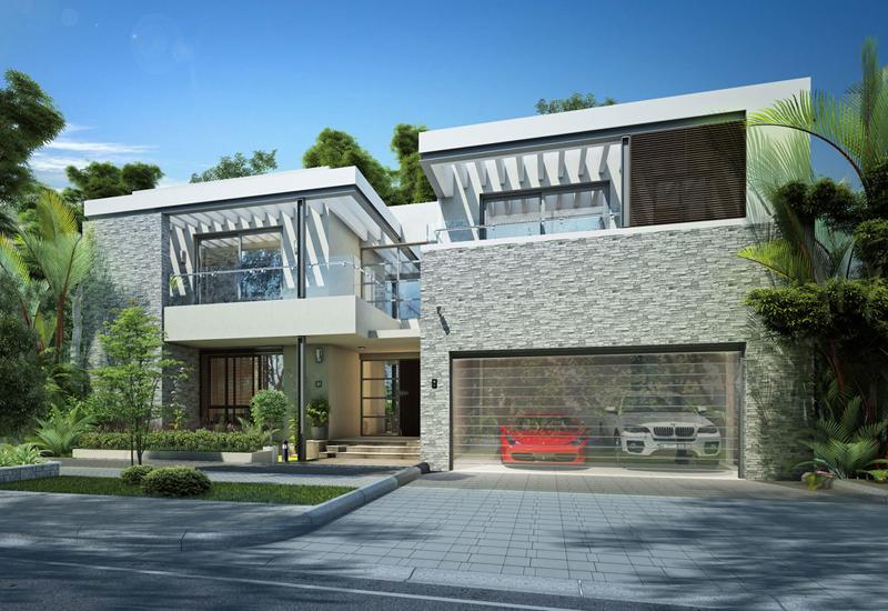 Sobha Group's $4bn Hartland Estates Forest Villas.