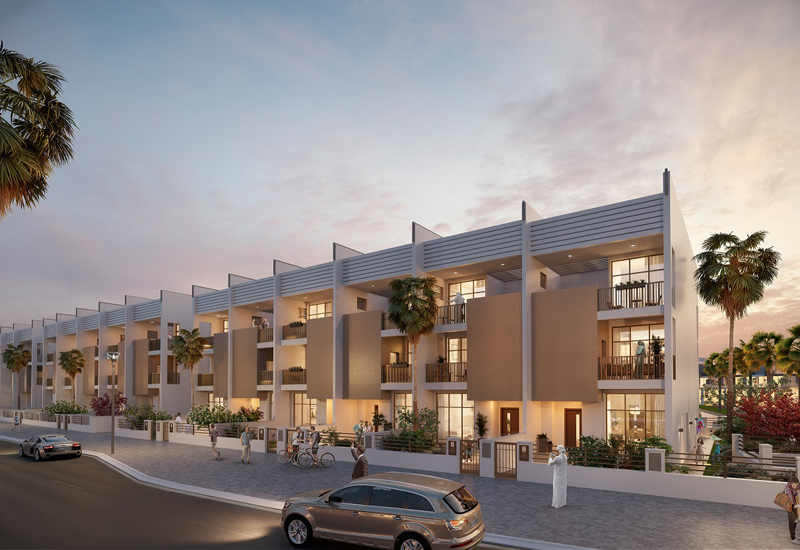 Somerset Mews features 17 four-bedroom townhouses