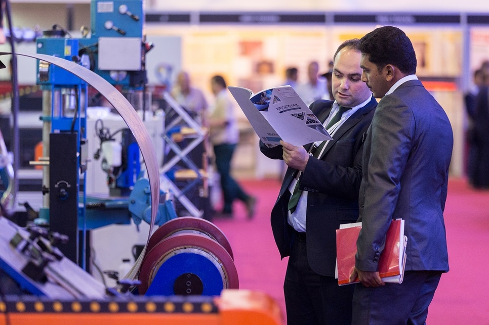 SteelFab will present 900 local and international steel working brands, displayed across more than 2.6 hectares of exhibiting space.