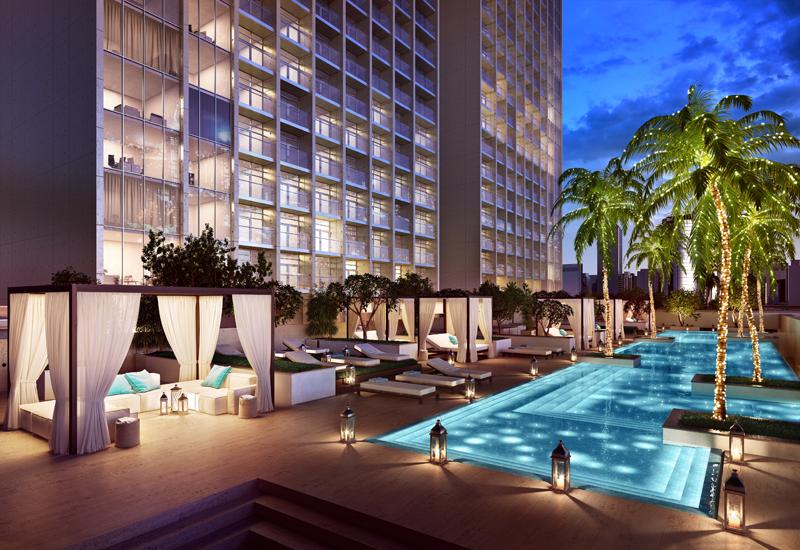 NEWS, Projects, Apartment, Burj khalifa, Contractor, Dubai, Dubai Water Canal, Omniyat, Real estate, Sun engineering, The Sterling By Omniyat