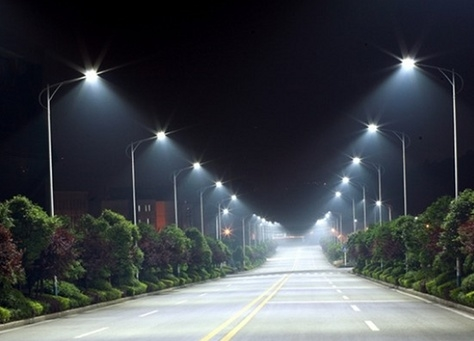 Solar-powered lamp posts have been fitted in Khor Fakkan's Yarmouk district by a Sharjah authority [representational image].