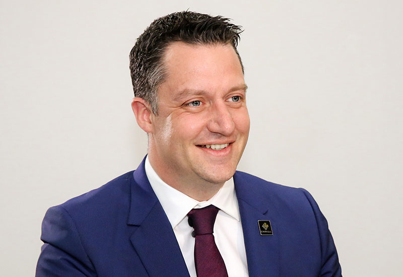 Davies' progression within the company has seen him rise to the position of managing director, a role he officialy took over earlier this year.