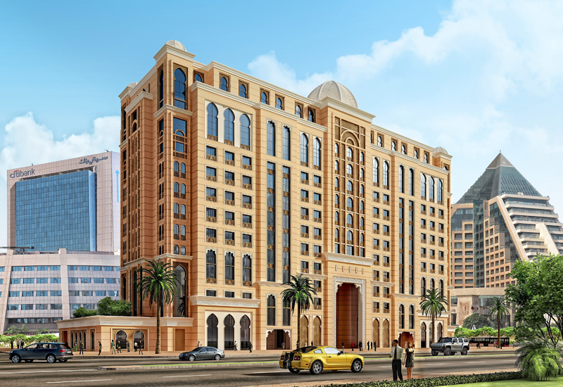 Rendering of TimeRoyal Hotel & Spa in DubaiHealthcare City.