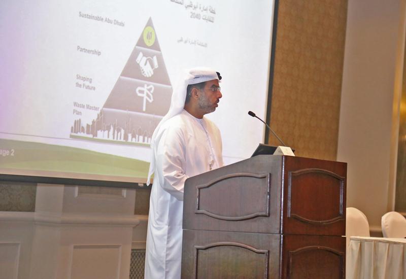 HE Eisa Saif Al Qubaisi, general manager, Tadweer.
