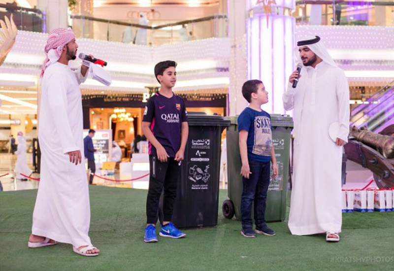 Abu Dhabi's Tadweer has organised an awareness event.