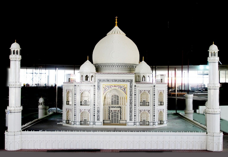 Pictures: Check out the Lego Taj Mahal replica