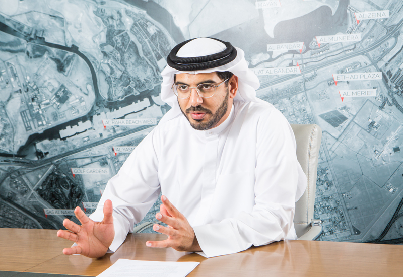 Aldars chief executive officer, Talal Al Dhiyebi.