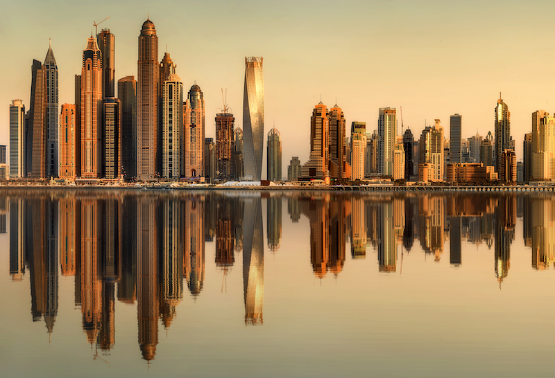 Skyscraper development is on the up in the Gulf [representational image].