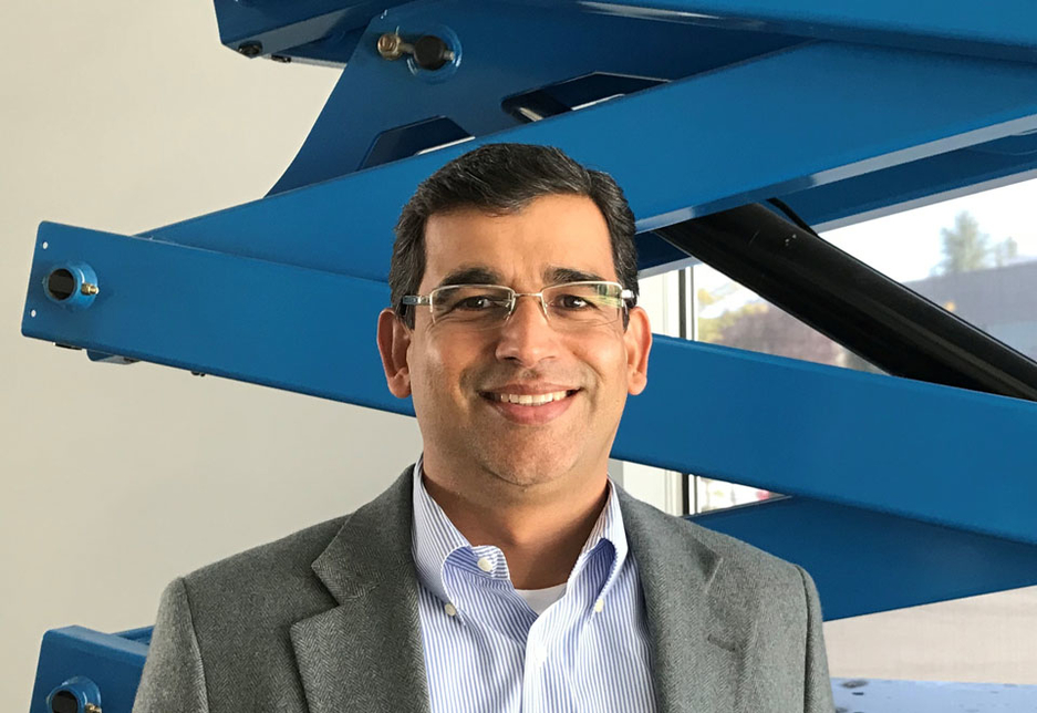 Arjun Mirdha, chief commercial officer for the Genie range, Terex AWP.