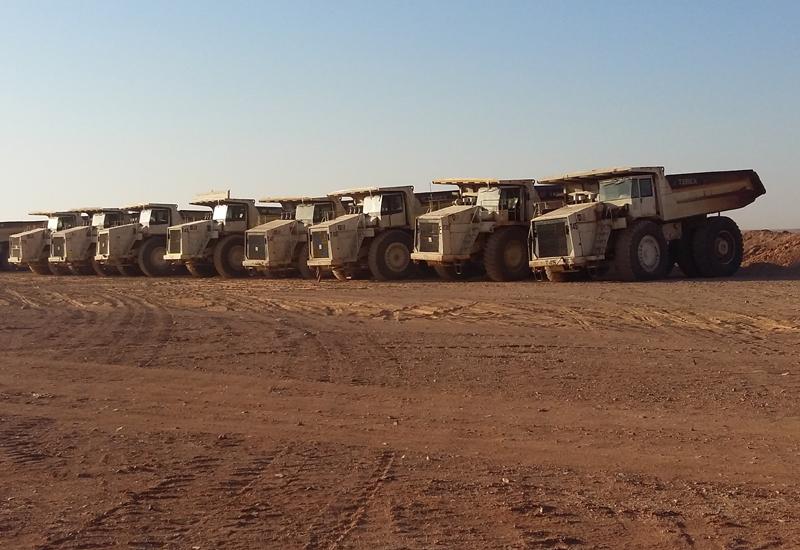 Comedat has put 90 Terex Trucks rigid dump units to work across three phosphate mines in Jordan.