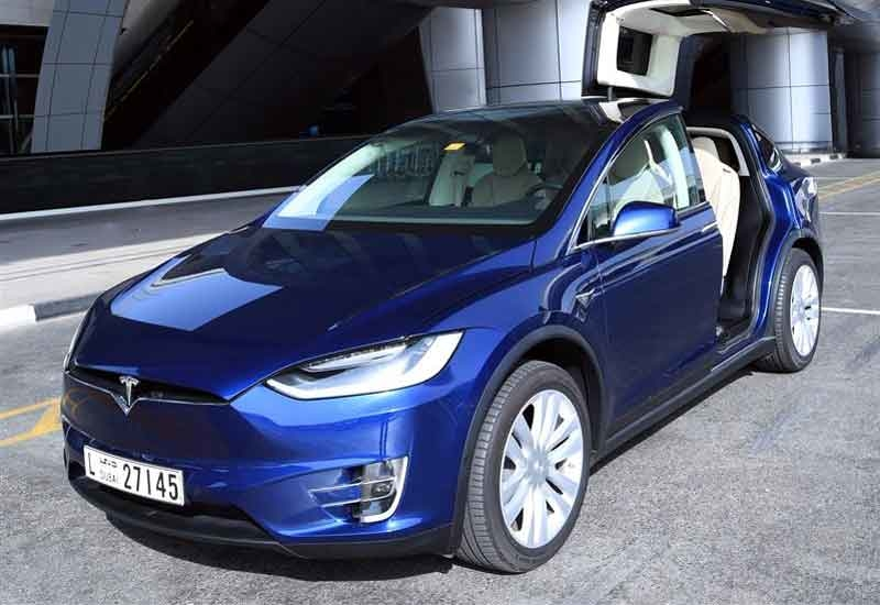 Tesla taxis are being operated in Dubai [image: Dubai Media Office].
