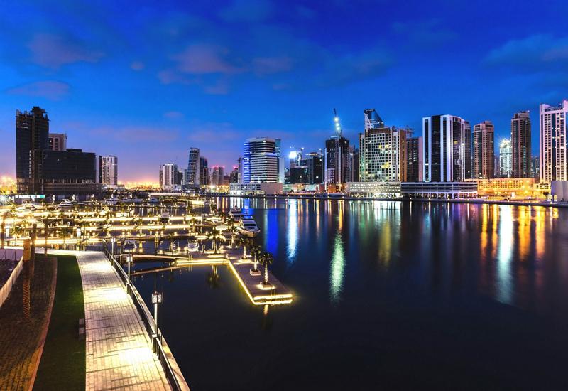 Marasi Marina in Business Bay, Dubai.