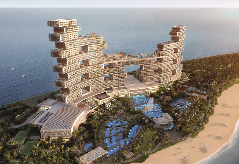 The Royal Atlantis Resort and Residencies will open next year.