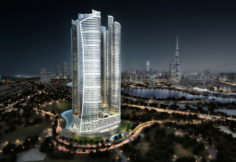 Toshiba supplied 34 units for Damac Towers by Paramount.