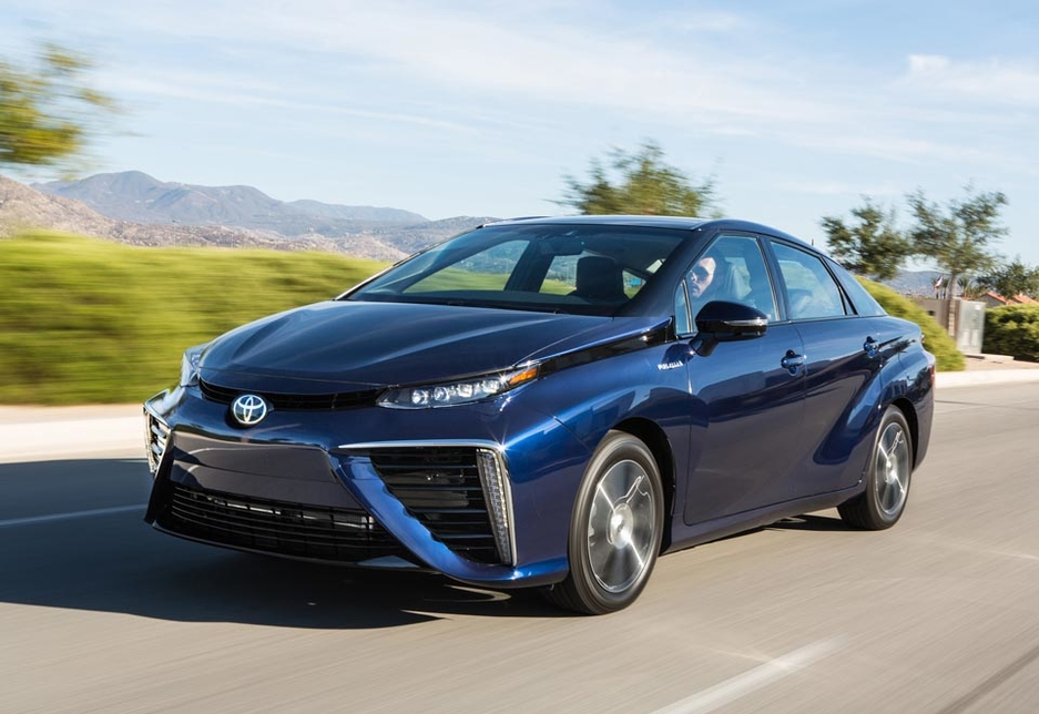 Toyotas Mirai fuel cell vehicle (FCV) will be supported by hydrogen filling stations provided by Air Liquide.