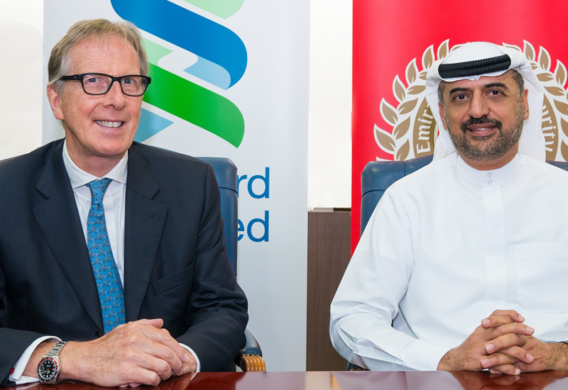 Transguard and Standard Chartered have signed a partnership agreement relating to smart cash transactions.