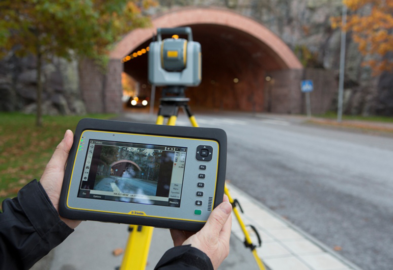 The Trimble SX10 Scanning Total Station.