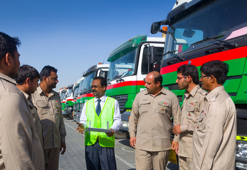 Tristar's driver training programme has been designed to ensure safe operations during the UAE's summer months.