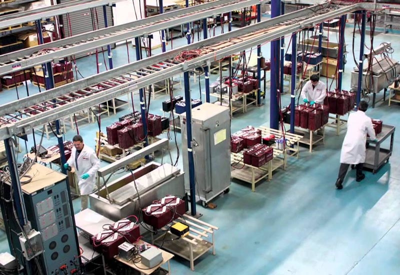 A Trojan Battery manufacturing facility.