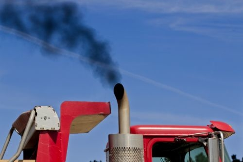 The Gulf is looking to delay emissions standards that would force heavy goods vehicles to cut their emissions and visible black smoke.