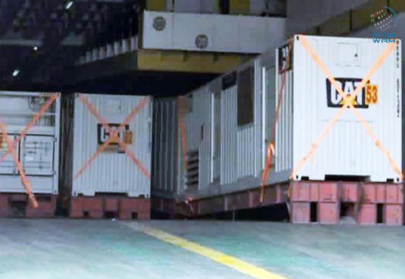 The UAE has presented authorities in Aden, Yemen, with 50 generator sets in a bid to end power cuts in the governorate.
