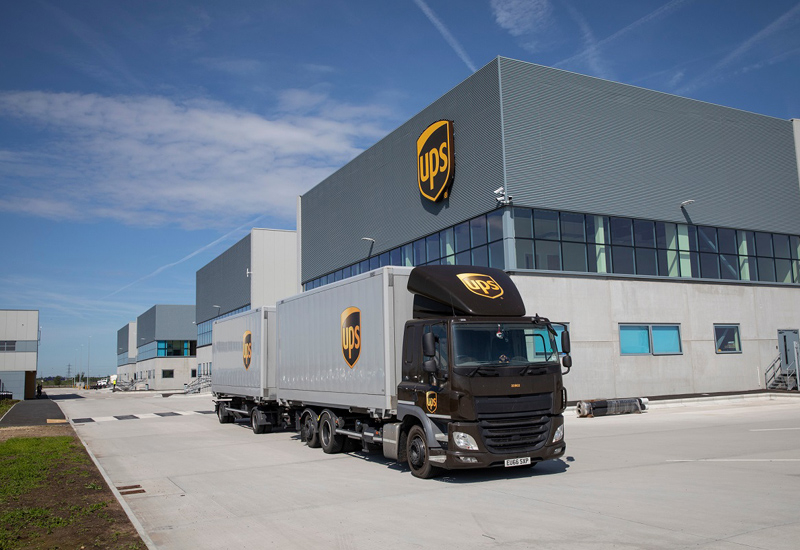 The new building will act as a UK package processing hub and distribution centre for the local area.