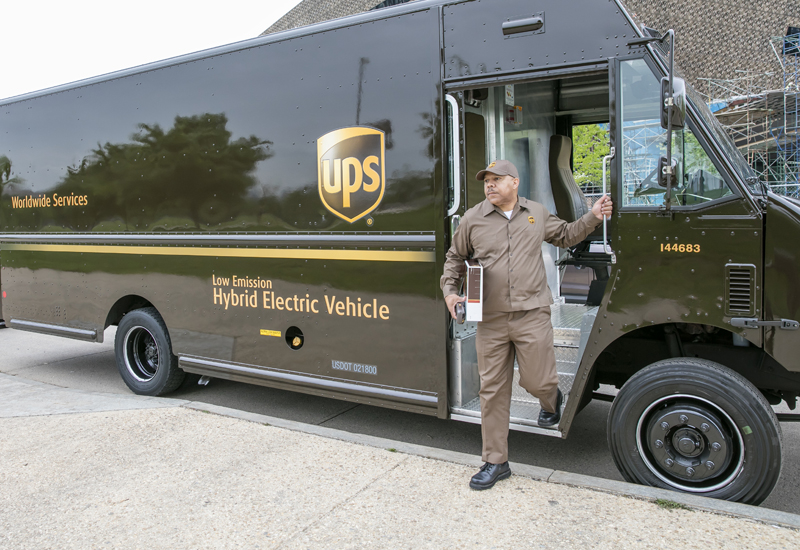By 2020, alternative fuel and advanced tech models will account for 25% of UPS's annual new vehicle purchases.