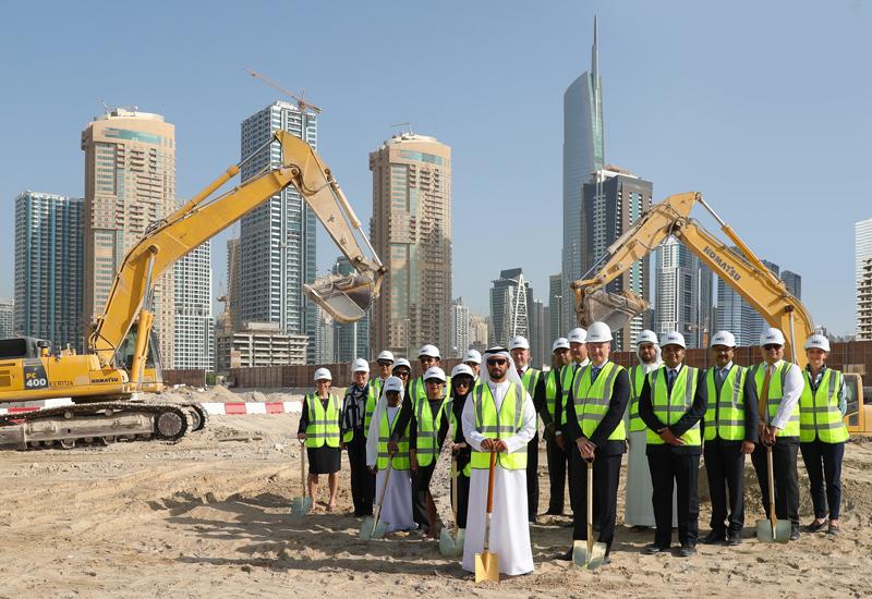 Ground breaking at the Uptown Dubai development across JLT.